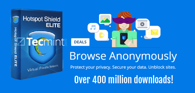 Hotspot Shield VPN Elite For Pc 2018