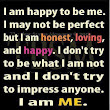 I am happy to be...