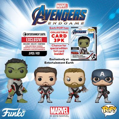 Avengers: Endgame Pop! Marvel Vinyl Figures by Funko