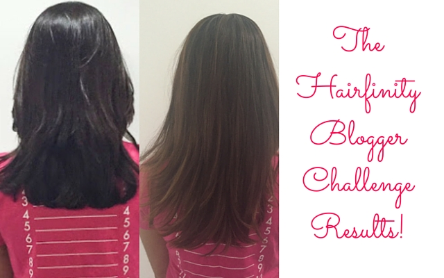 The Hairfinity Blogger Challenge Results! | Fashion ...