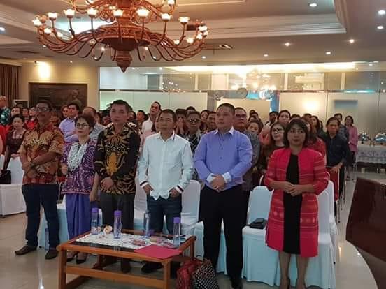 Hadiri Perayaan Natal Dan HUT ke-62 Rukun Iwekahalesan se-Jabodetabek, Bupati JS: Jaukan Perbedaan Jaga Persatuan Dan Kesatuan