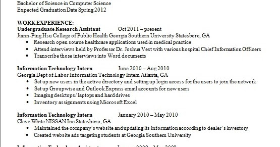 undergraduate research assistant resume examples in word format free download