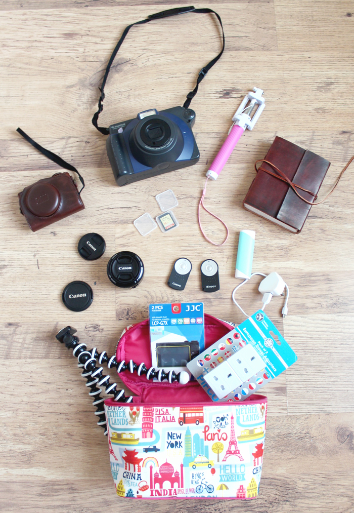 Tech Travel Essentials & Check List For Bloggers