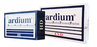 Ardium Tablet : Ekstrak Citrus Sinensis