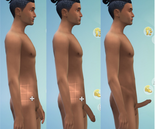 man the sims naked