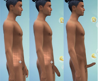 Naked men on sims