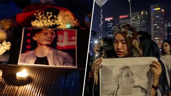 Peminat Malaysia Berkumpul Beri Penghormatan Terakhir Buat Jonghyun