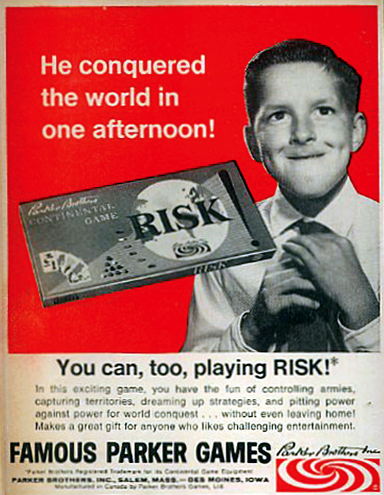 Risk advertising 1966