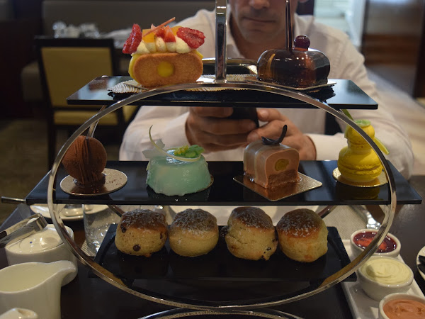 Afternoon Tea at London Hilton on Park Lane
