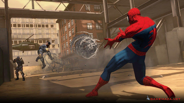 Spiderman Shattered Dimensions Gameplay Screenshot 4
