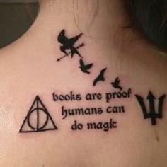 Los Mil Libros Tatuajes Inspirados En Sagas Juveniles