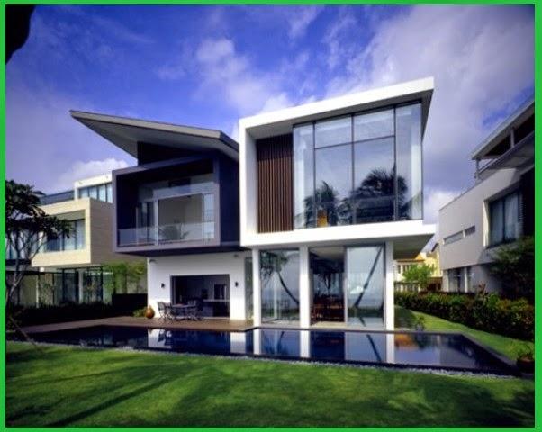 Model Terbaik Rumah Tinggal Minimalis Mewah 2015 Pro Rahasia Pro