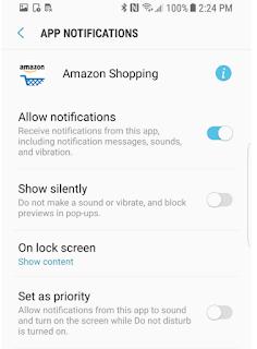 Cara Menonaktifkan Notifikasi Aplikasi Pada Galaxy S8