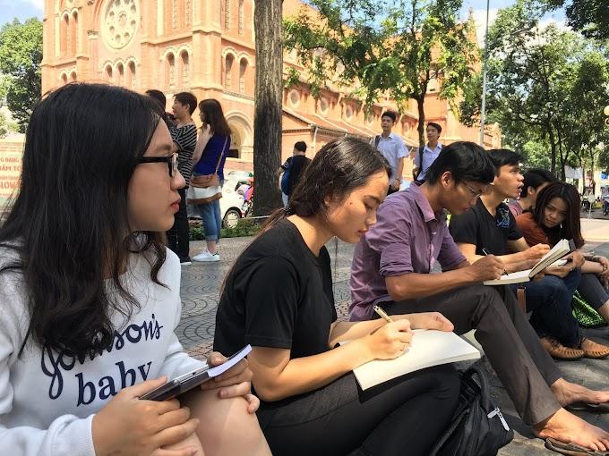Sài Gòn - Kí Họa và Kết nối mỗi cuối tuần