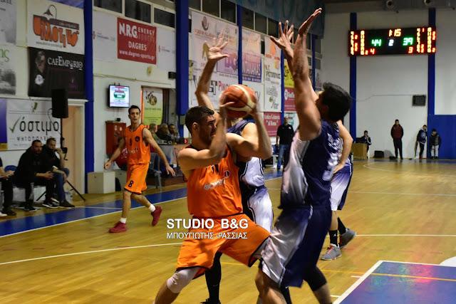 82-81 νίκησε ο Οίακας Ναυπλίου την Πεντέλη
