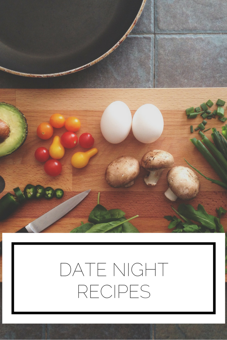 Click to read now or pin to save for later! Have you ever been stuck figuring out what to do for date night? Try cooking together with these recipes