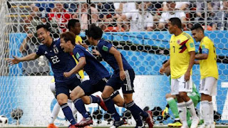 New surprise in the World Cup: Colombia falls, with ten, against Japan 1-2
