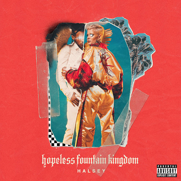 Halsey - Eyes Closed - Single Cover