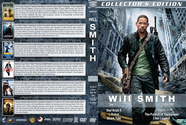 Will Smith Collector's Edition Set 3 2003-2007 DVD Cover