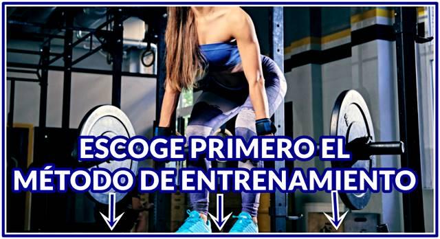 Rutina de entrenamiento efectiva para mujeres para ganar masa muscular