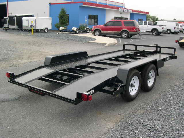 Hire Car Towing Trailer