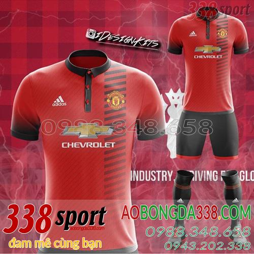 mẫu áo bóng đá đẹp 2018