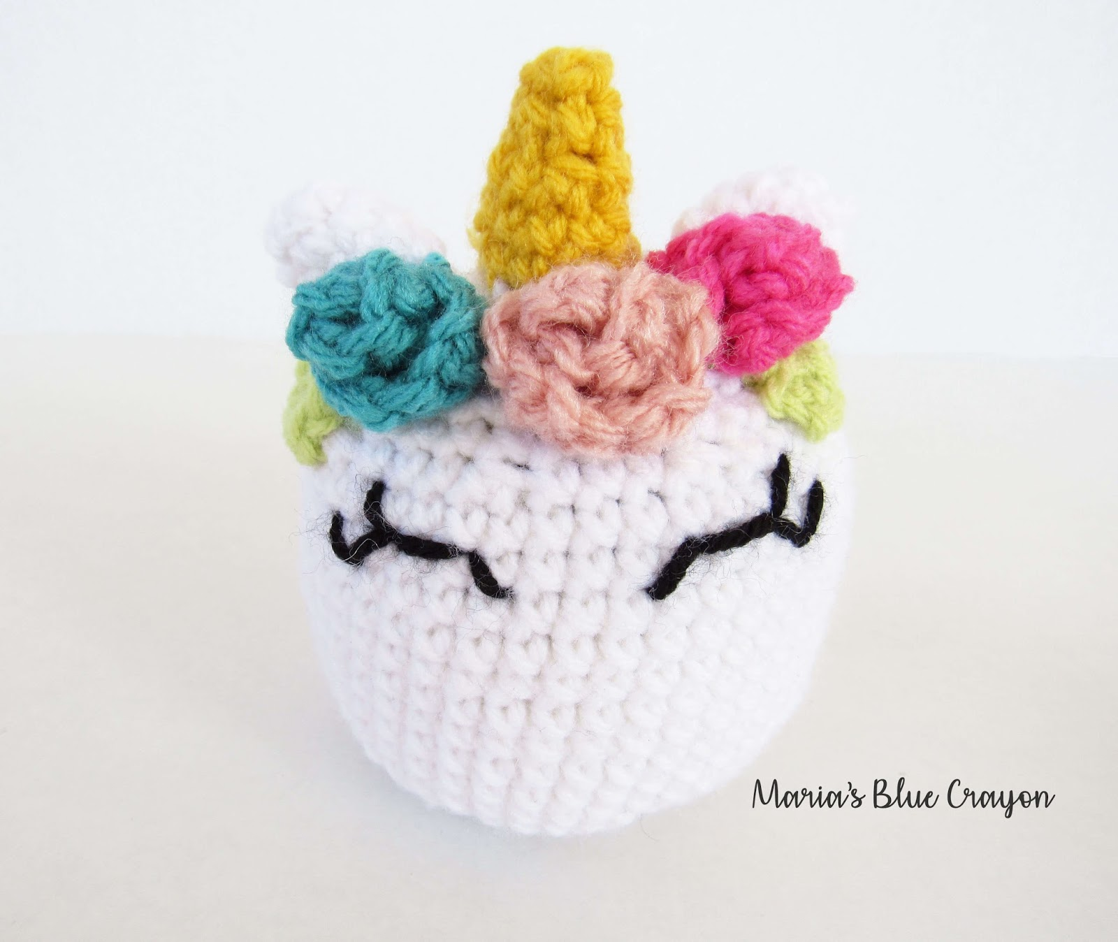Crochet Easter Basket Stuffed Toys Free Patterns Marias It With Flowers S Found A Few Once I Made The Unicorn Looked Around On Pinterest And Saw That Fellow Blogger Pretty Darn Similar One Didnt Write Up Another Pattern For