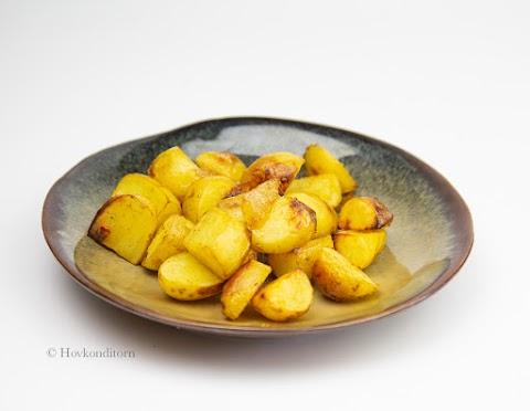 Mango Chutney Roasted Potatoes