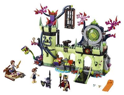 LEGO Elves - 41188 Fuga de la fortaleza del rey de los duendes | 2017 | Juego de Construcción | JUGUETE contenido