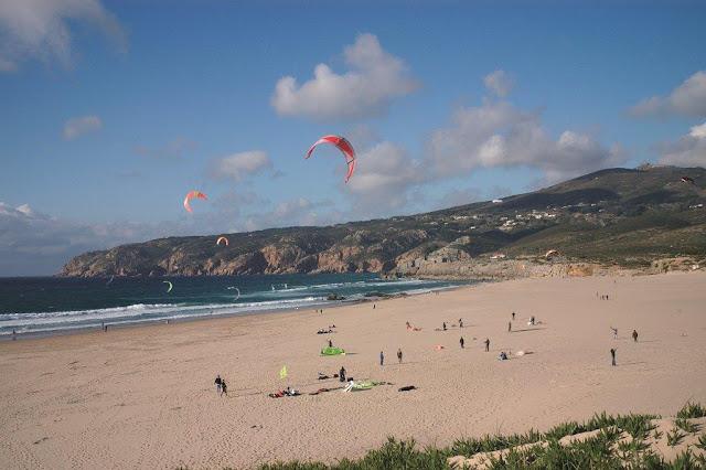 Praia do Guincho - kitesurf