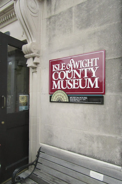 Isle of Wight County Museum in Smithfield, Virginia