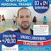 Cruso Personal Trainer será realizado em Cajazeiras nos dias 03 e 04 de Setembro: Confira!