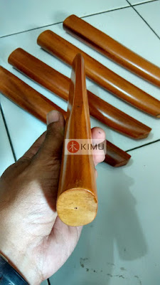 All New KIMU Gold Tanto (Pisau Kayu)