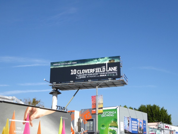 10 Cloverfield Lane billboard