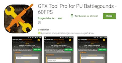 aplikasi peningkatan kualitas game pubg agar tidak lag di hp xiaomi