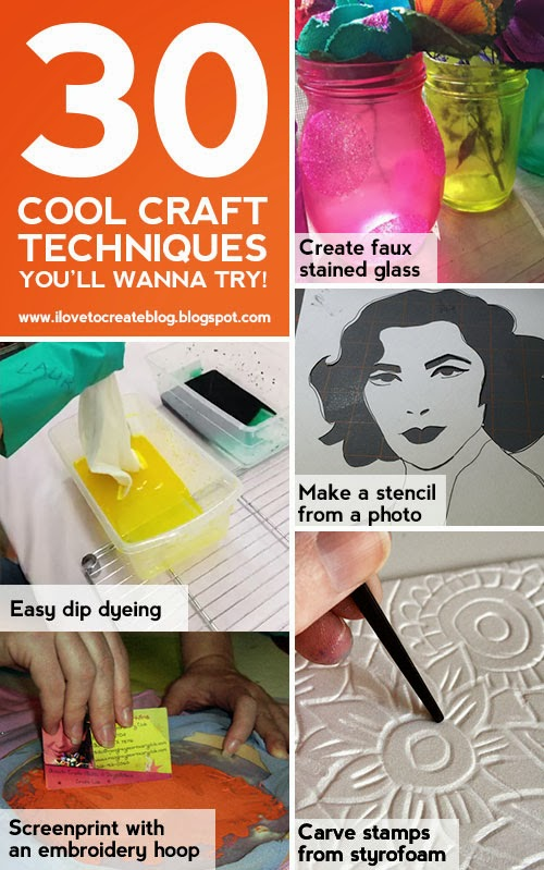 30 Cool Matte Nail Art Designs: ILoveToCreate Blog: 30 Cool Craft Techniques You'll Wanna Try