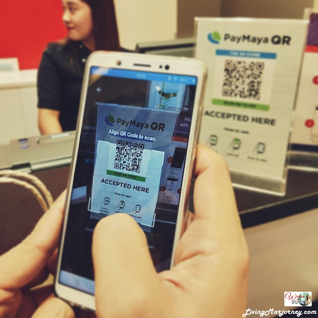 PayMaya QR at SM Department Store