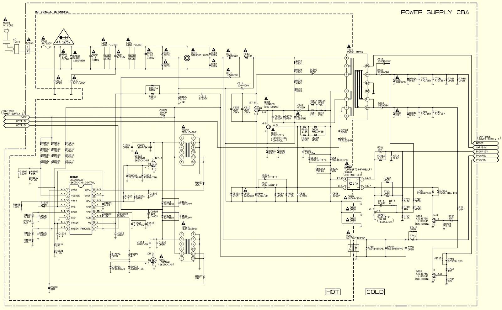 50MF412B-F7 MAGNAVOX and LC501EM3 EMERSON – LCD TVs Service mode