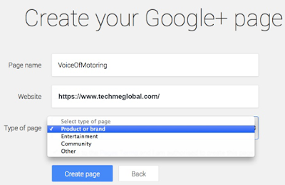 Create Your Google+ Page