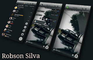Black Car Theme For GBWhatsApp By Robson