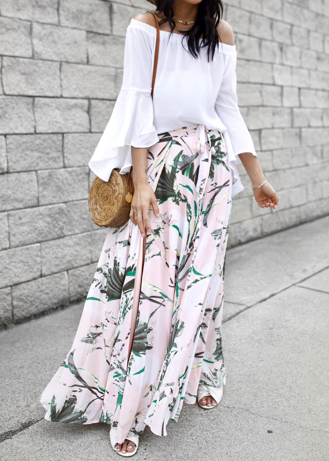 New York and Company Maxi Skirt