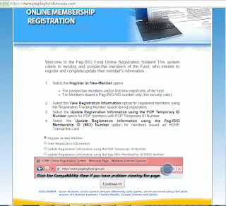 Pag-IBIG Online Form