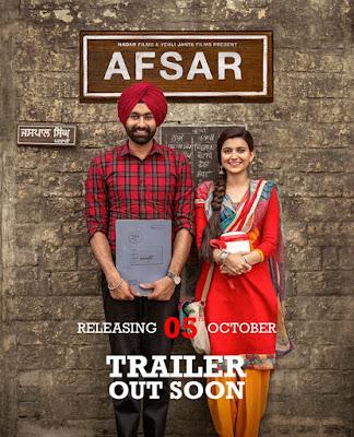 Afsar 2018 Punjabi 480p HDRip 400Mb x264