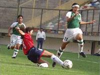 Bolivia y Chile en Campeonato Sudamericano Femenino 2003, 11 de abril