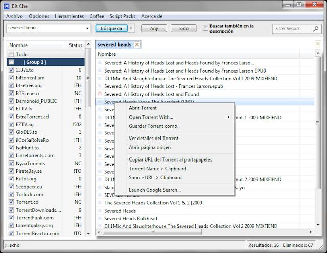 Bit Che v3.5 build 50 | Tu mejor aliado para buscar torrents | Nueva versión