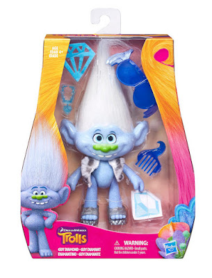 JUGUETES - DreamWorks TROLLS  Guy Diamante : Diamantino | Figura - Muñeco  PELICULA 2016 | Hasbro B8829 | A partir de 4 años Comprar en Amazon España