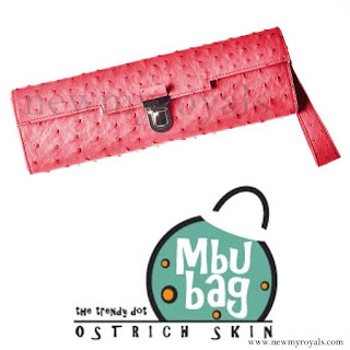 Queen Letizia style MBUBAG clutch