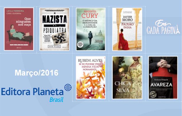 [Lançamento] Editora Planeta - Março/ 2016
