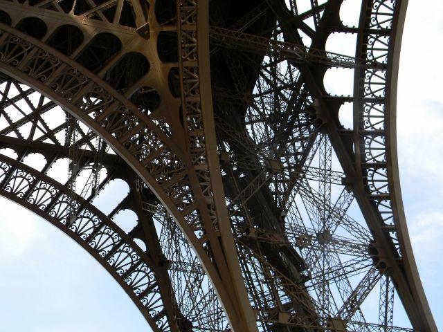 wieża Eiffla, spacerkiem po Paryżu
