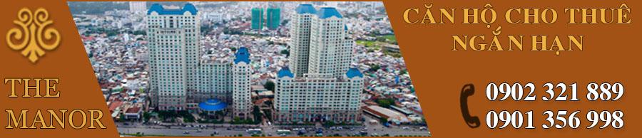 Cho thuê ngắn hạn căn hộ The Manor Nguyễn Hữu Cảnh